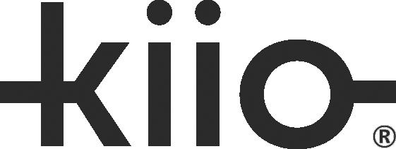 Kiio logo greyscale