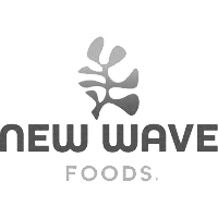New Wave Foods Logo grayscale