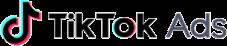 Ticktok Ads Logo