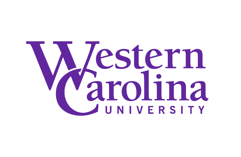The Western Carolina University (WCU) logo.