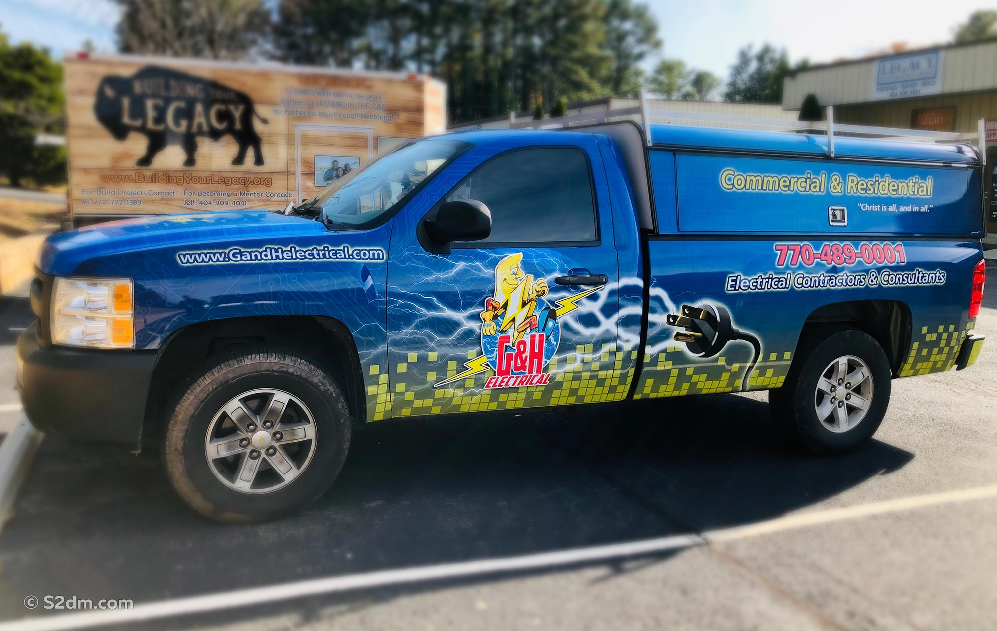 Vehicle wrap G&H electrical