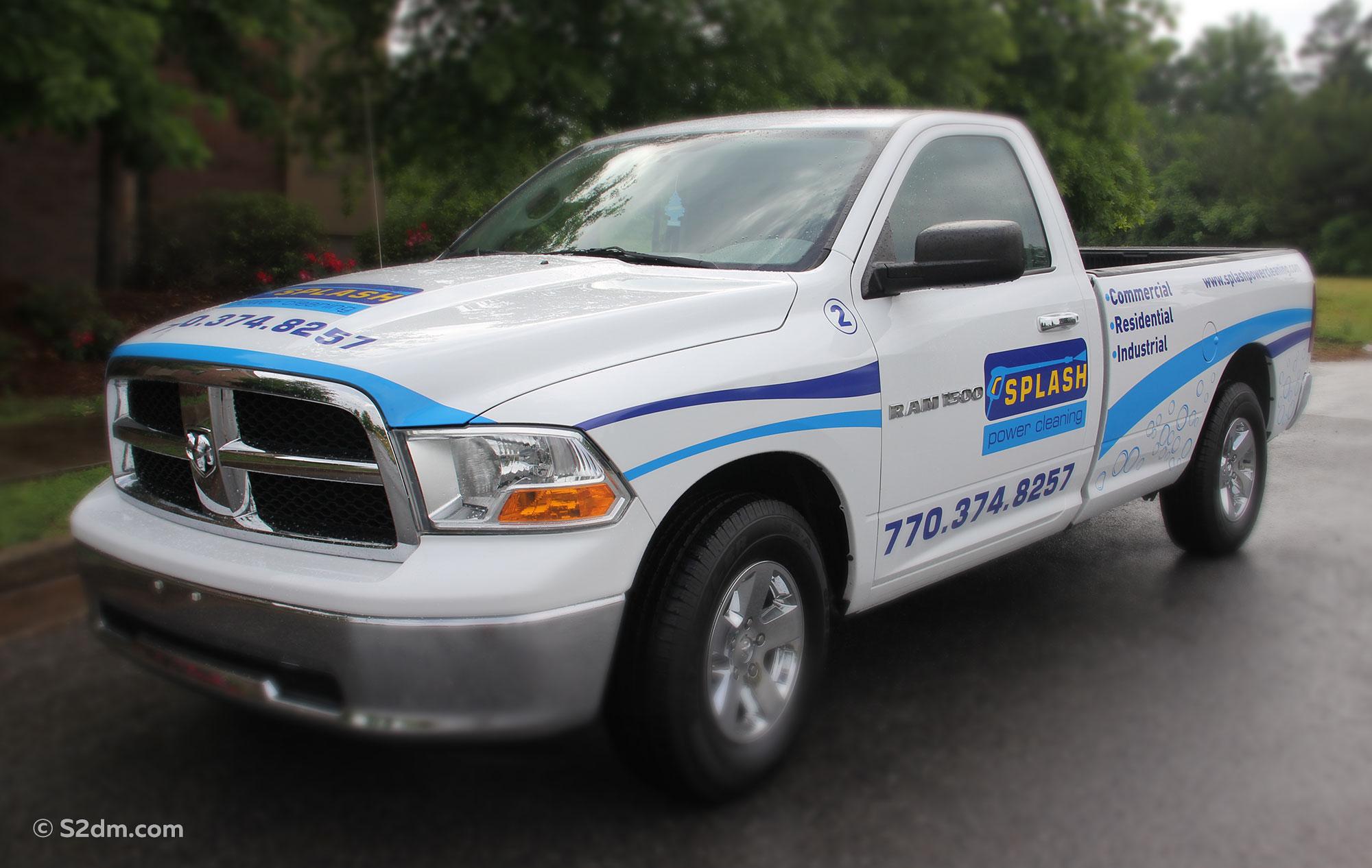 Dodge truck graphics