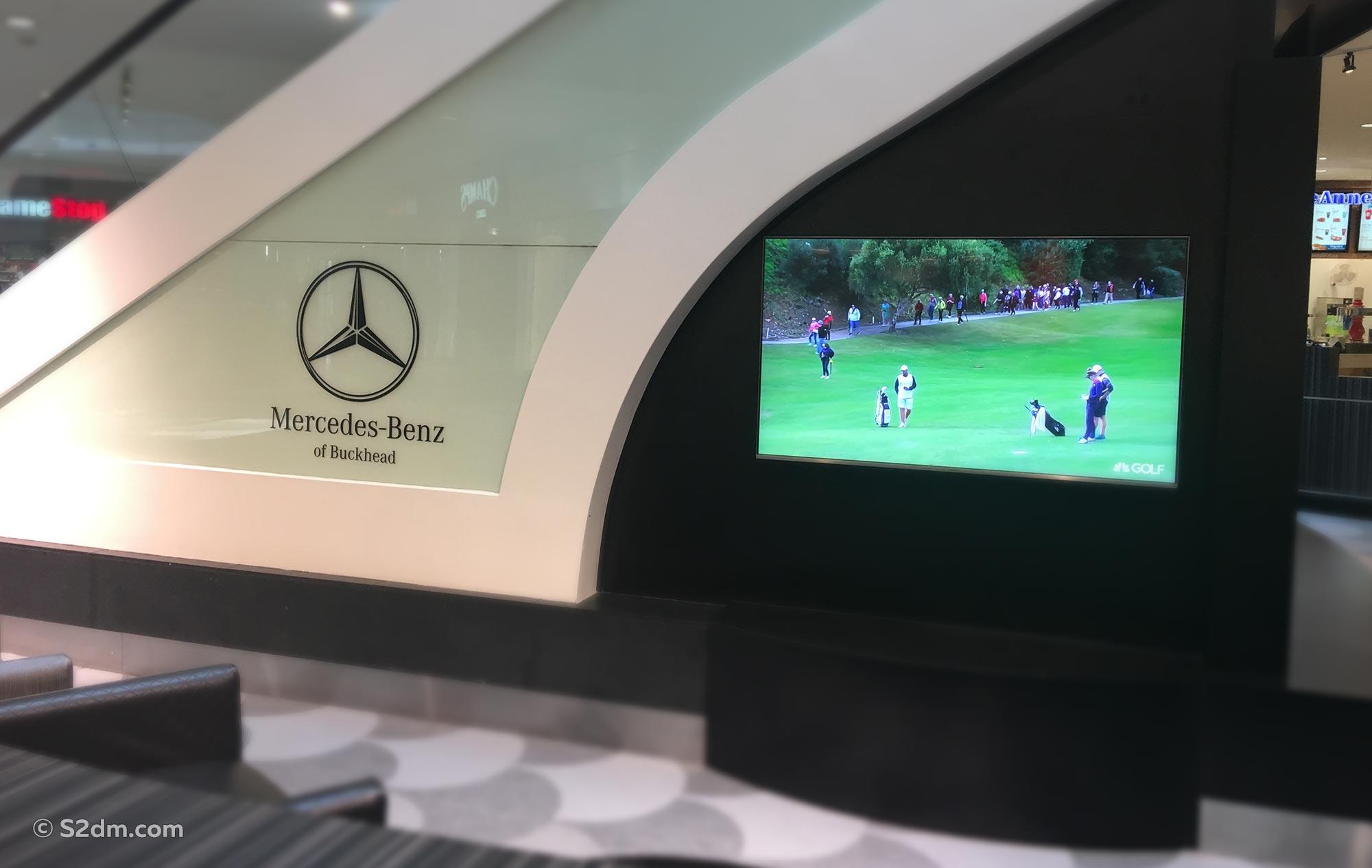 Mercedes-Benz of Buckhead signs