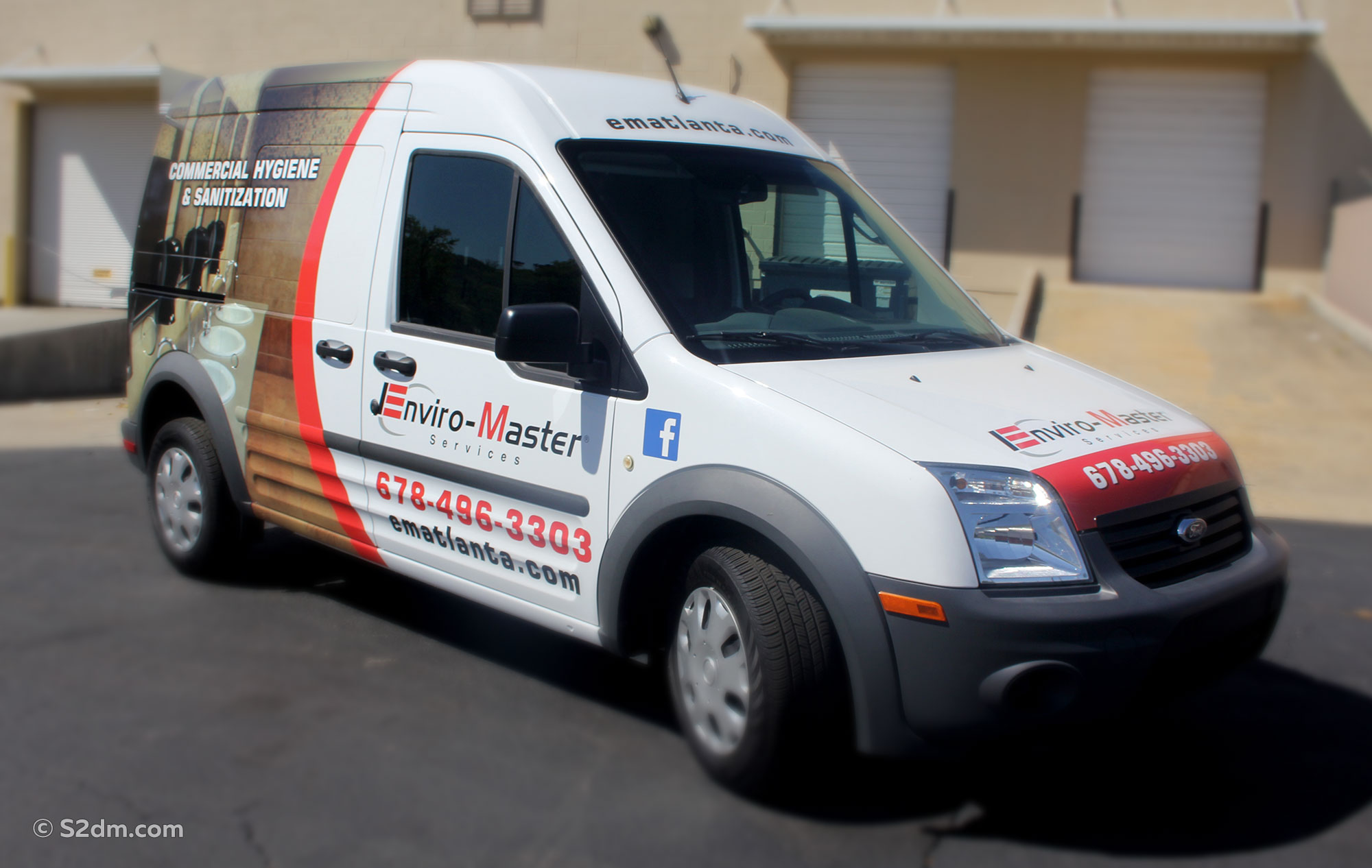 Car wrap Ford Transit Connect