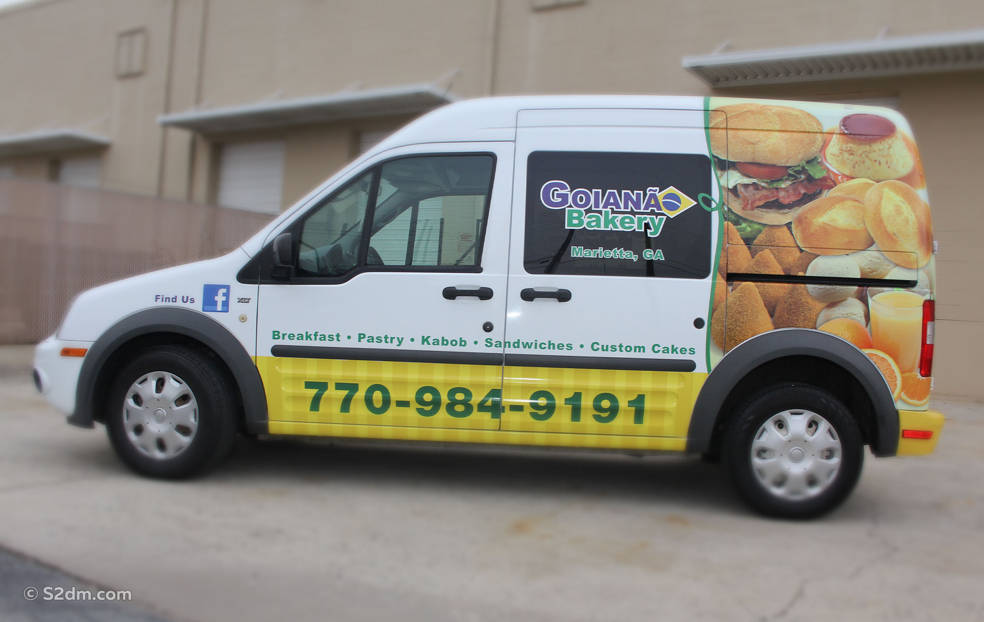 Ford Transit Connect wrap