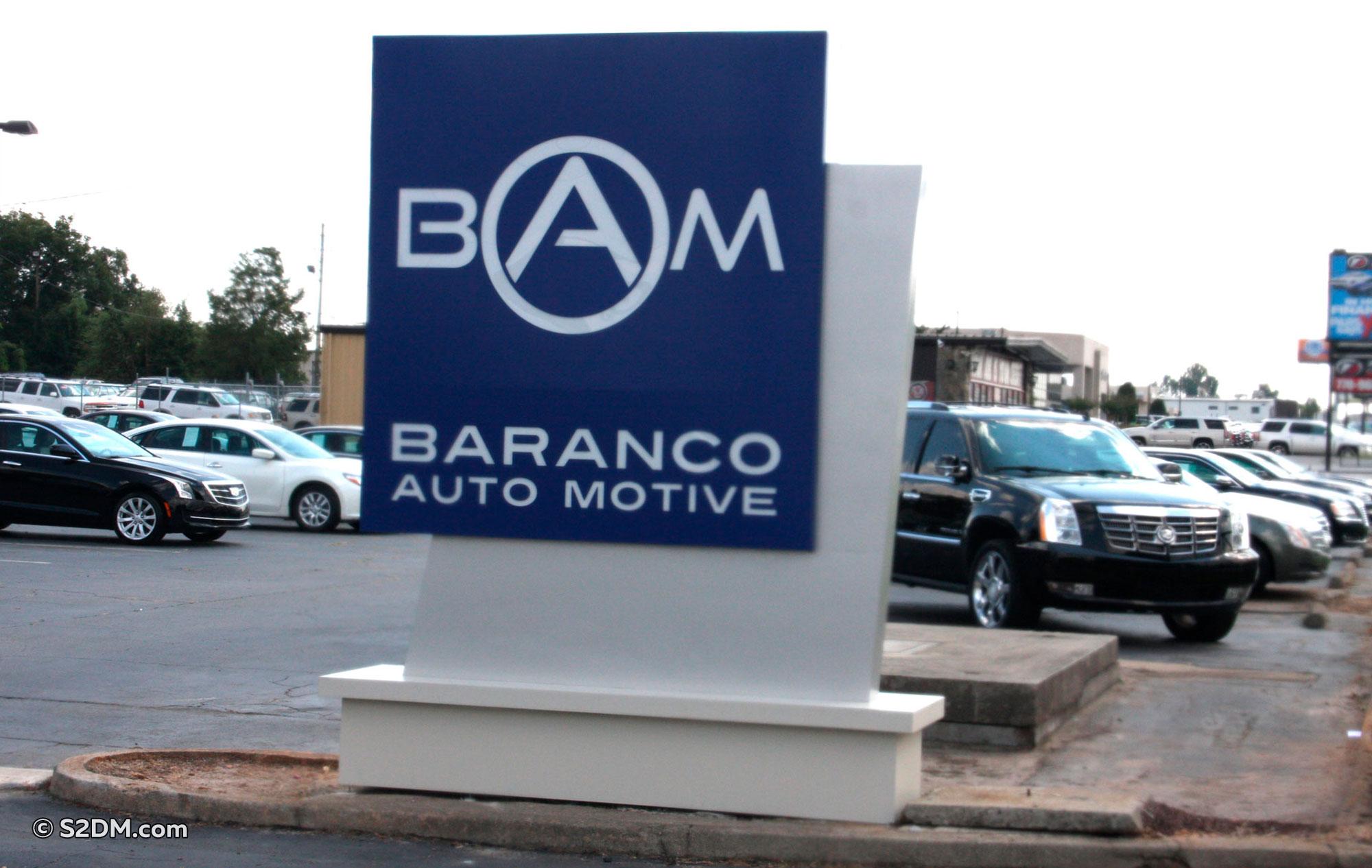 Baranco Auto Motive signage