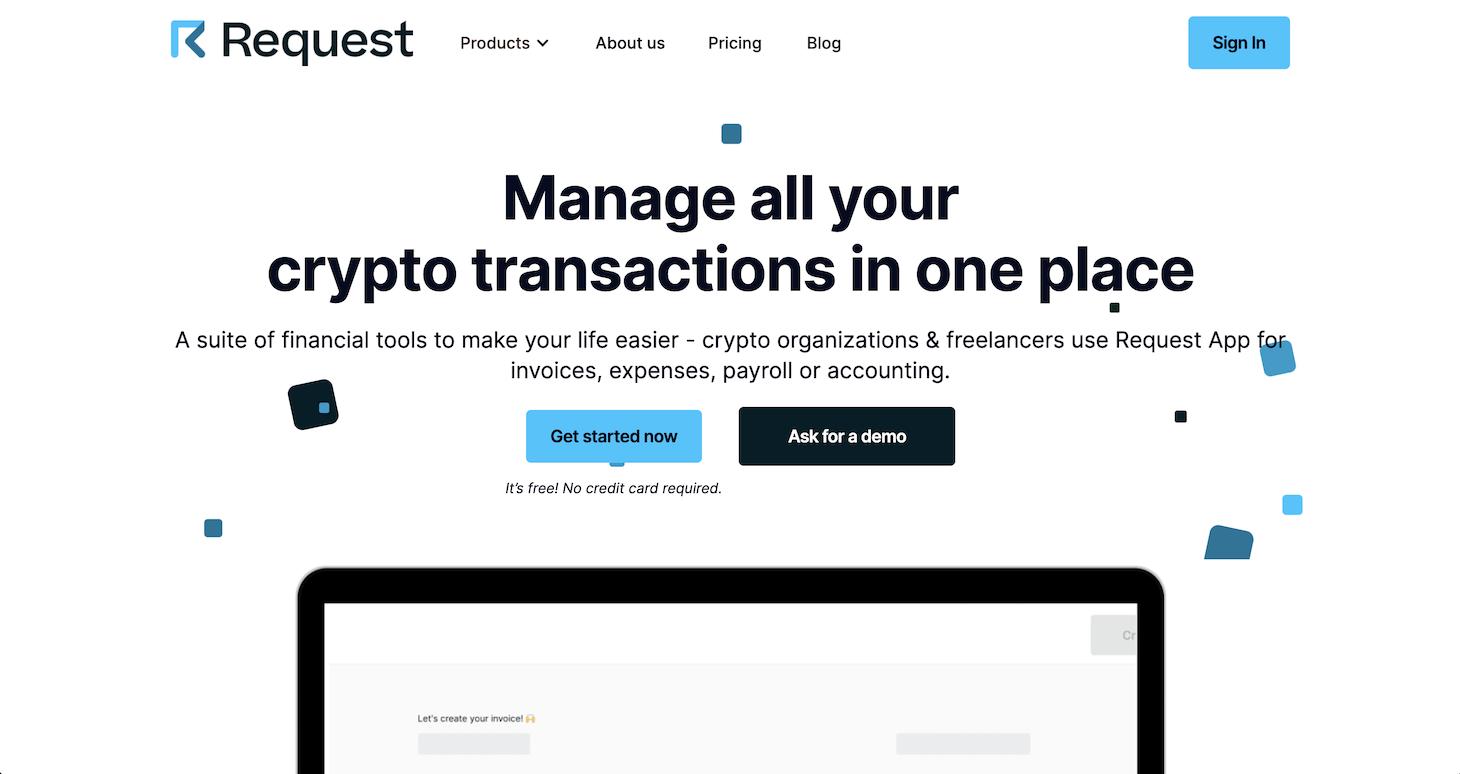 request finance