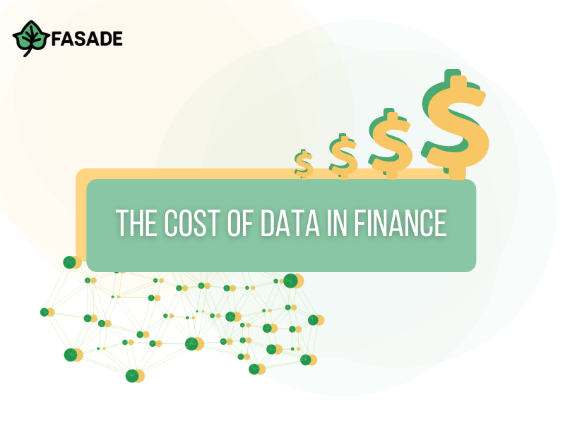 The Cost of Data in Finance