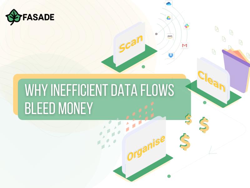 Why Inefficient Data Flows Bleed Money