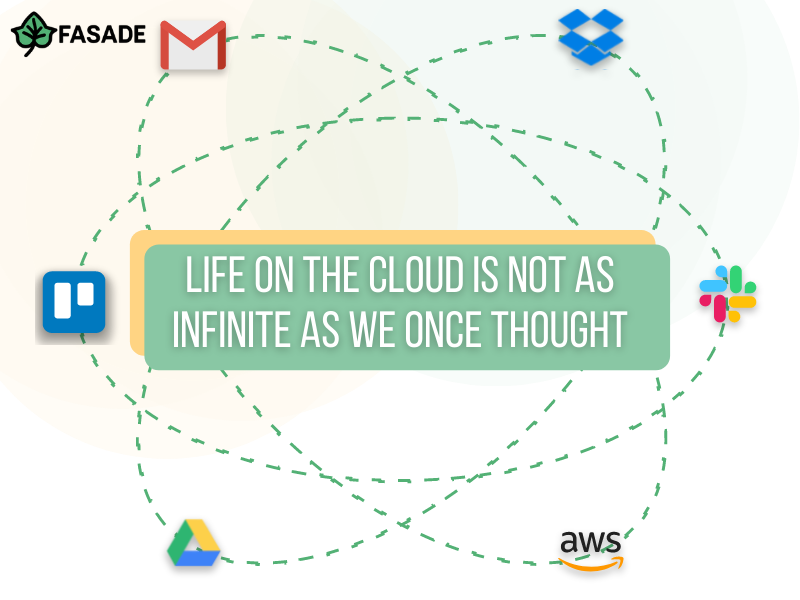 Life on the Cloud is not as infinite as we once thought