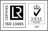 UKAS and ISA certification logos
