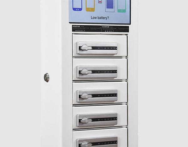 Borne Compact 6 casiers avec serrures