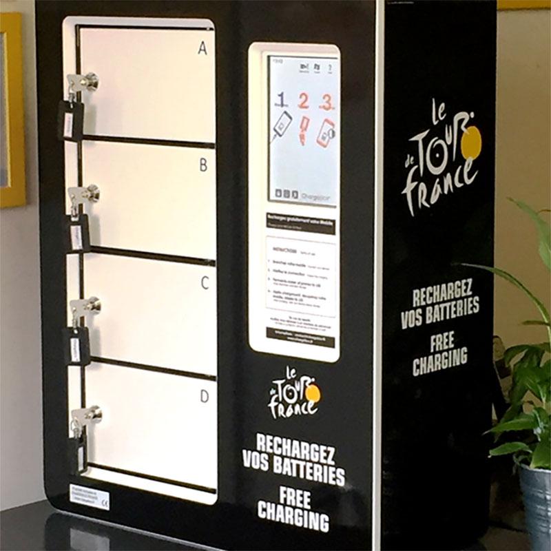 Personnalisation Borne Smart Tour de France