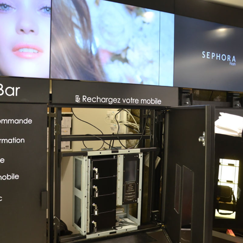 Intégration Borne Smart Sephora