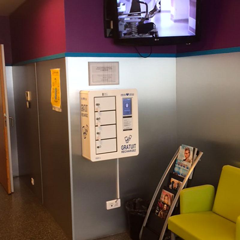 Borne Smart salle d'attente