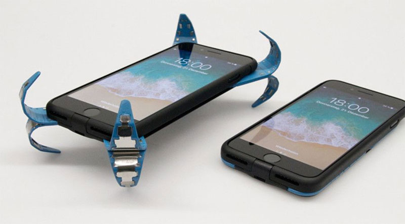 Graine de génie : il invente un airbag pour smartphone