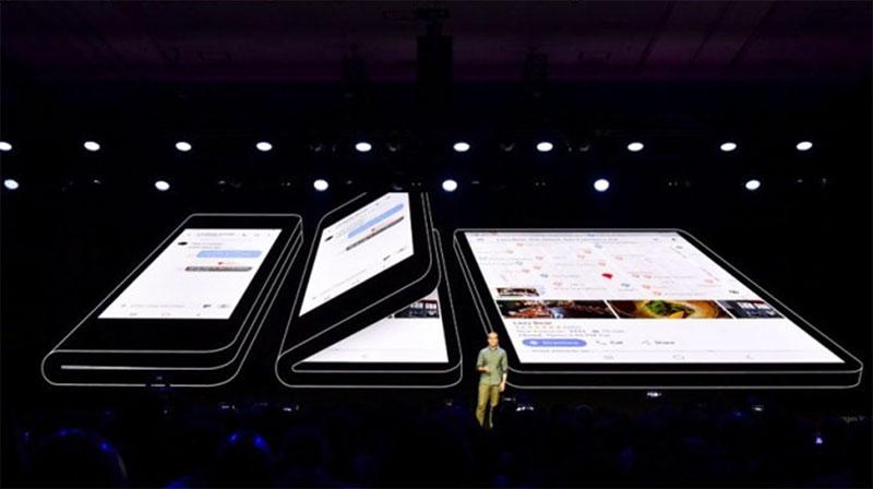 La puissance du nouveau Galaxy F : Samsung dévoile le Galaxy F à écran pliable.
