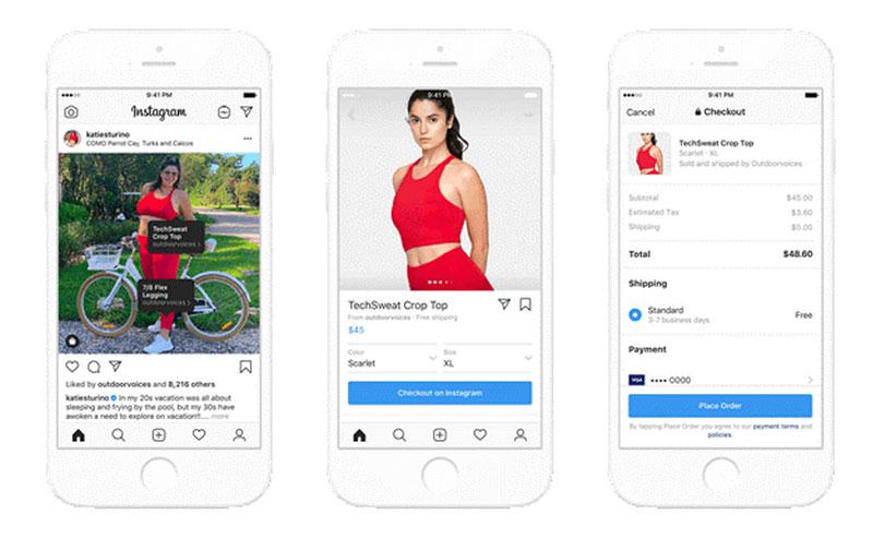 Comment Instagram devient une véritable Marketplace