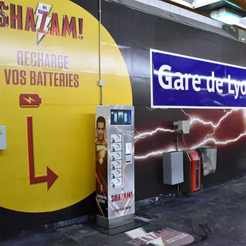 Borne Plus Max métro
