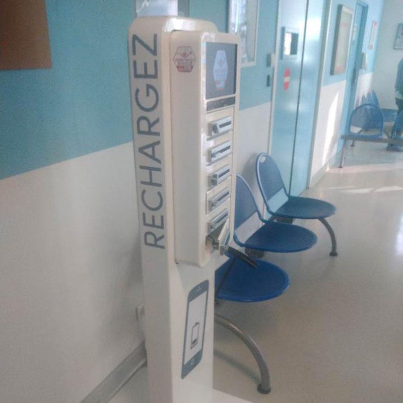 Borne Compact Plus hôpital