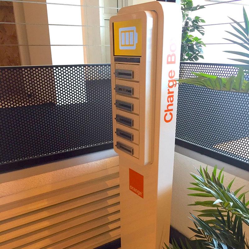 Borne Compact Plus orange