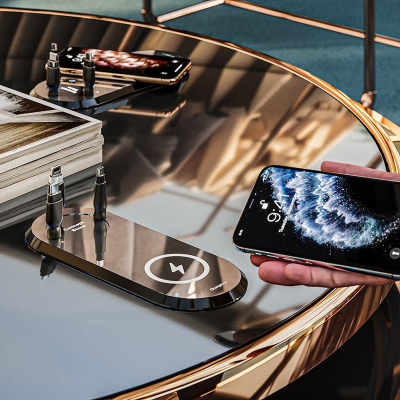 Chargeur Intex Porsche table