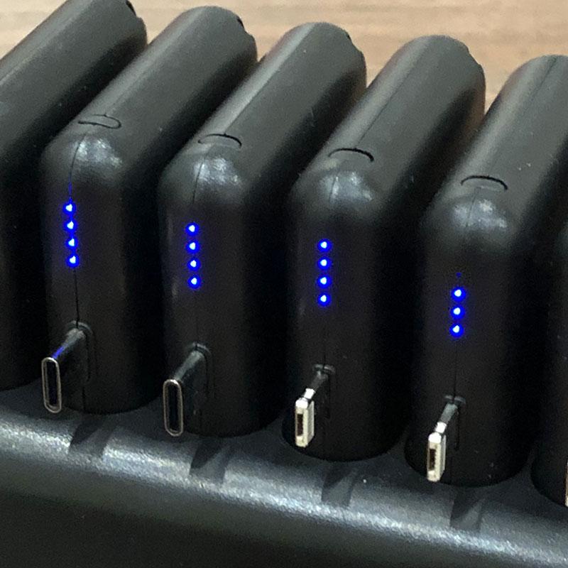 Batteries Mobil Compact connectique