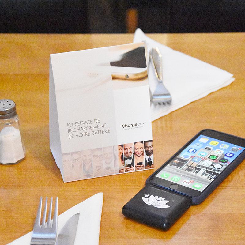 Batteries Mobil Compact service restaurant