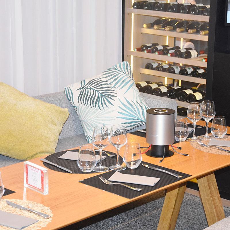 Chargeur de table Welcom restaurant