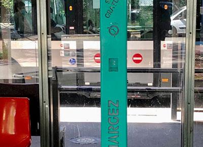 Borne Liberty sur mesure RATP