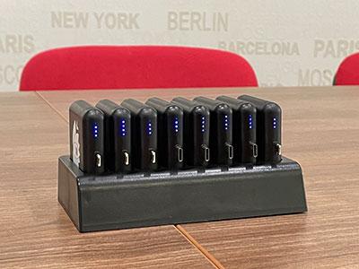 Mobil Compact socle de rechargement 8 batteries