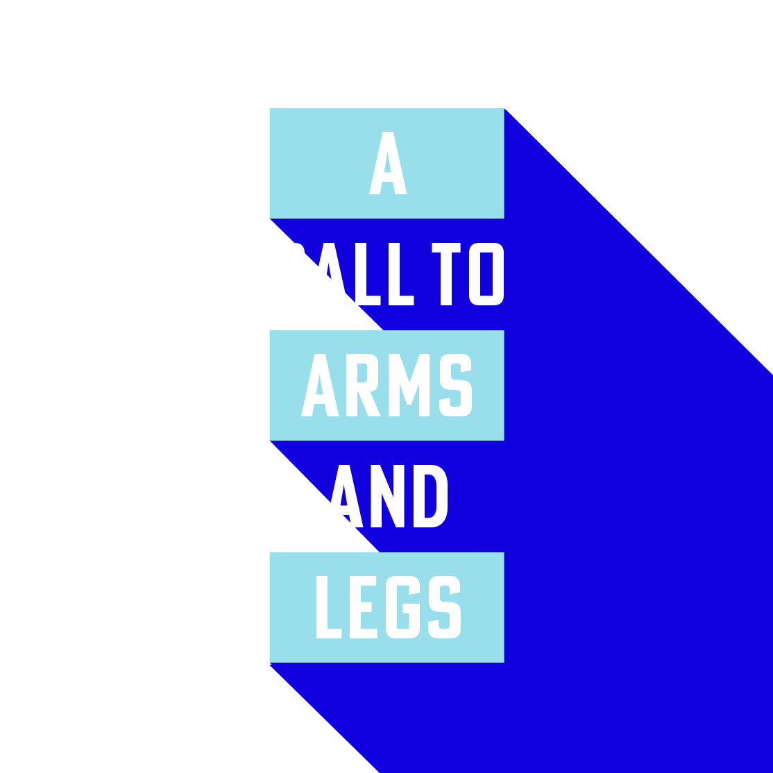 a call to arms and legs image
