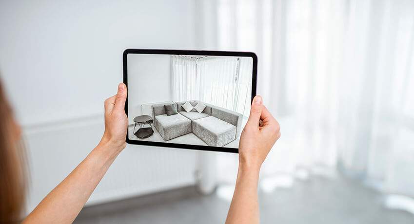 Try in your space Augmented Reality