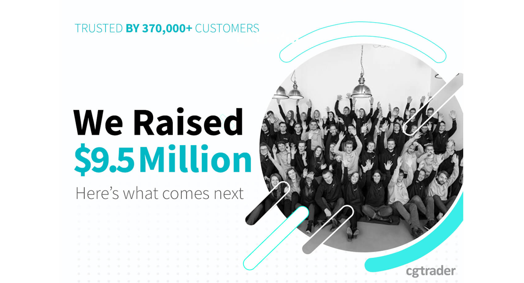 Next chapter: we have raised $9.5M in funding