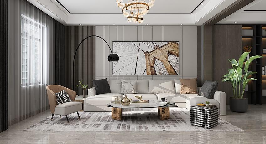 3d rendering room scene