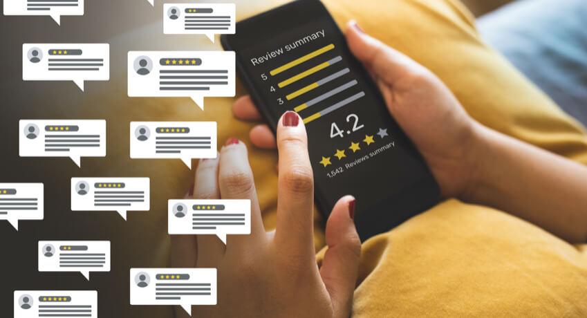 Add customer reviews illustration