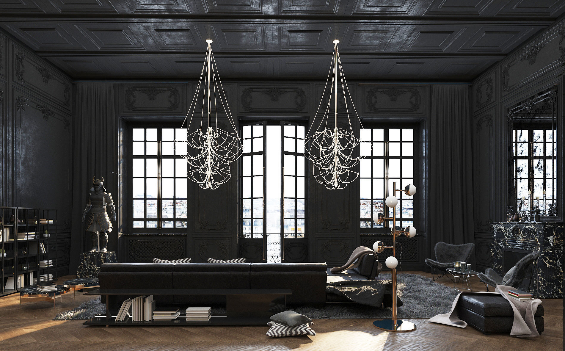 Paris Luxury Apartment