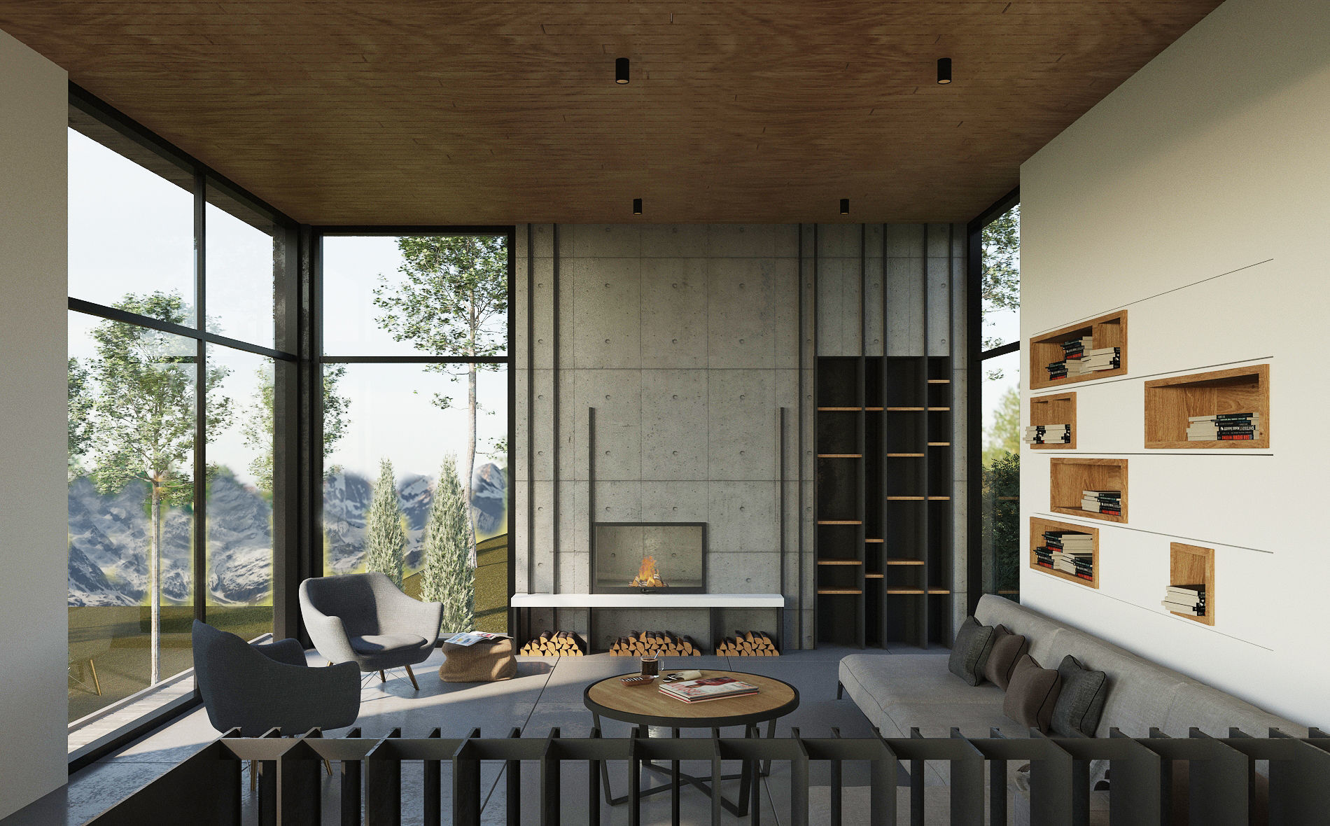Horizontals House Living Room