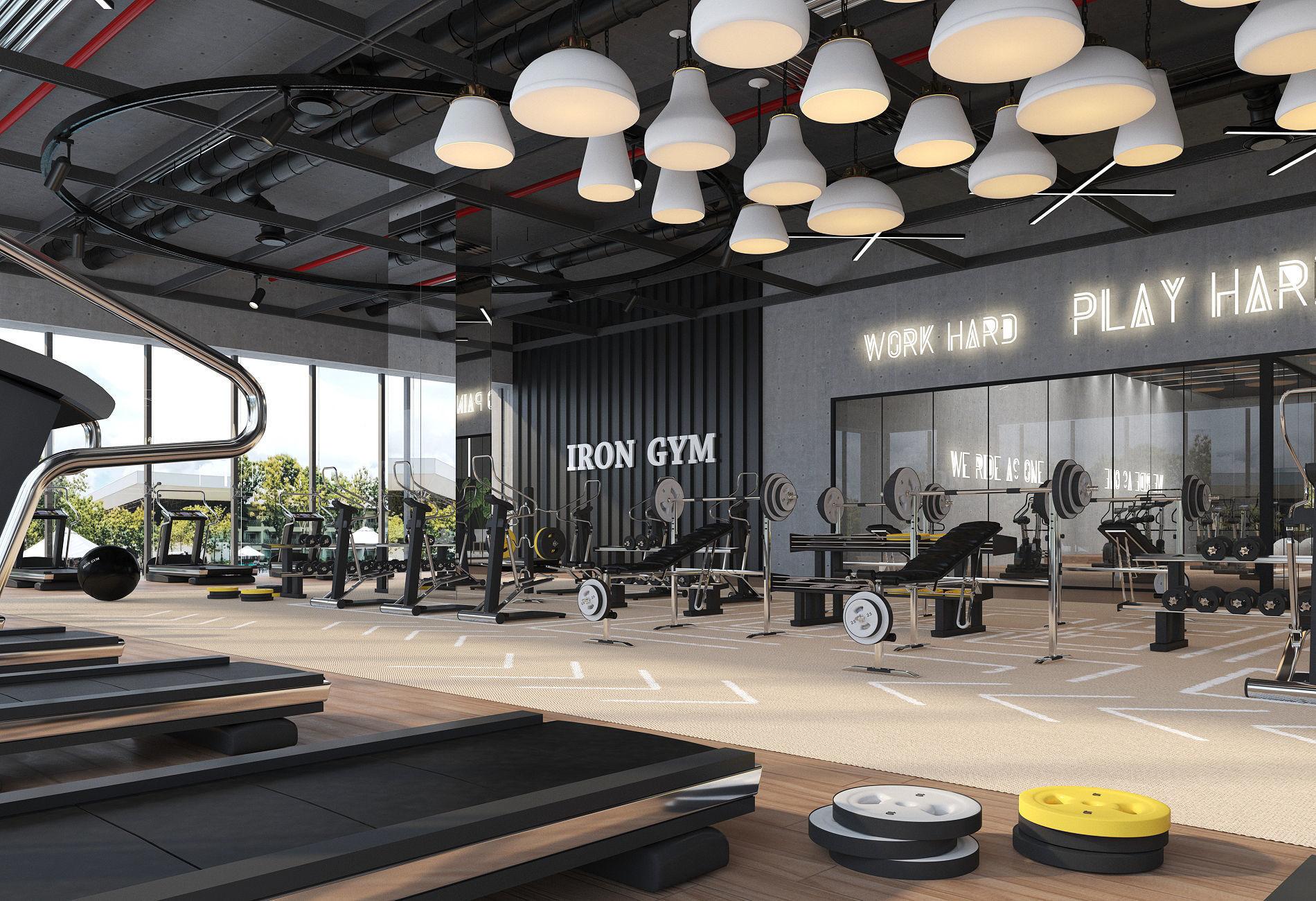Fitness Center Gym