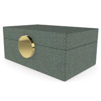 Green Fabric Jewellery Box