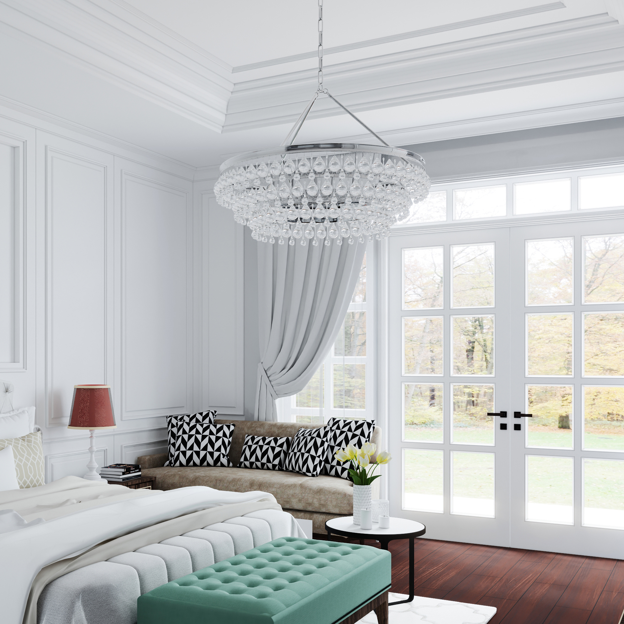 Why American lighting specialist Crystorama chose 3D lifestyle scenes for product visualization