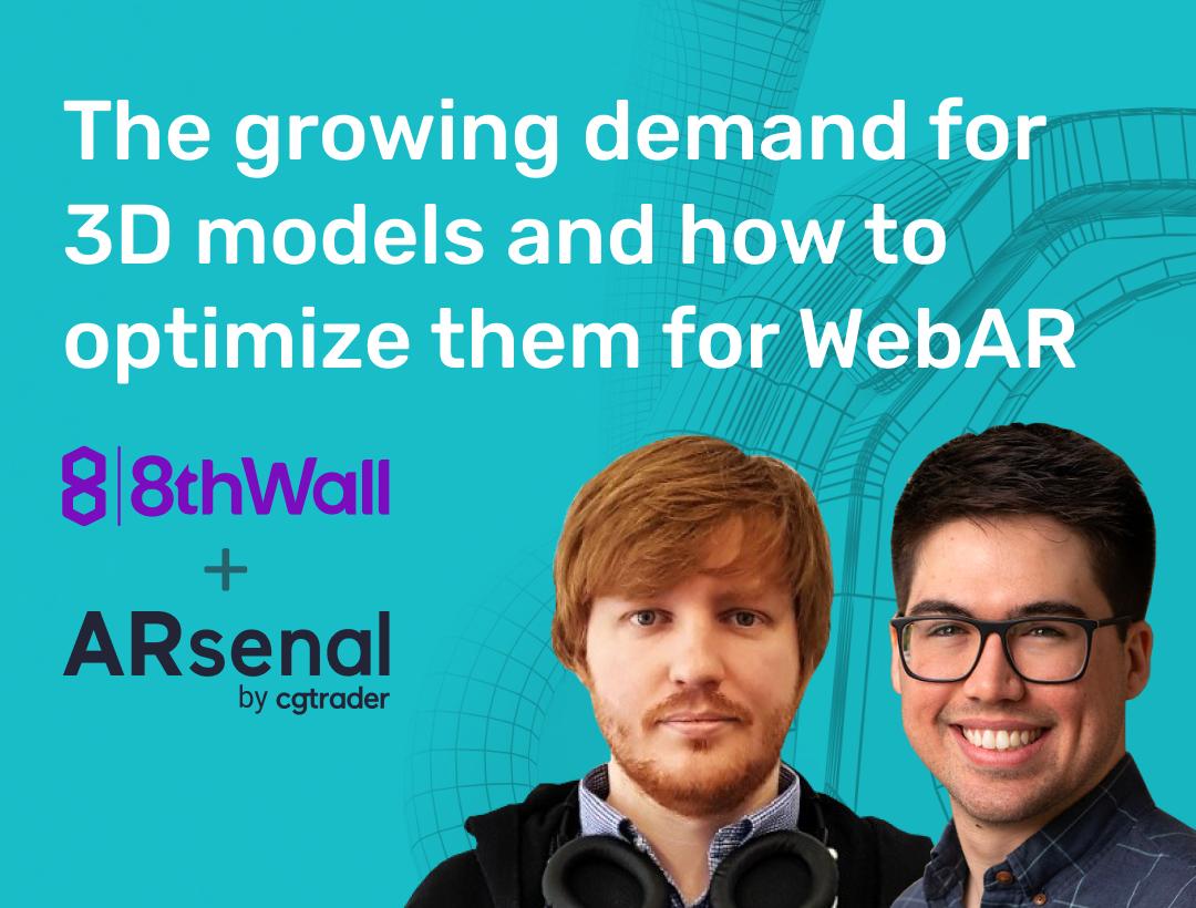 Webinar: How to optimize 3D models for WebAR