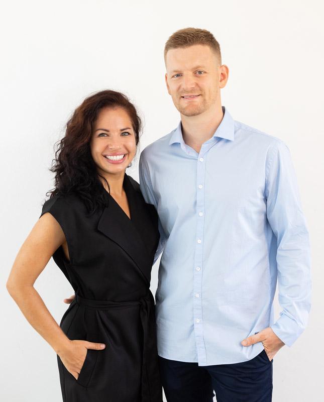 founders mark sergienko and julia eskin