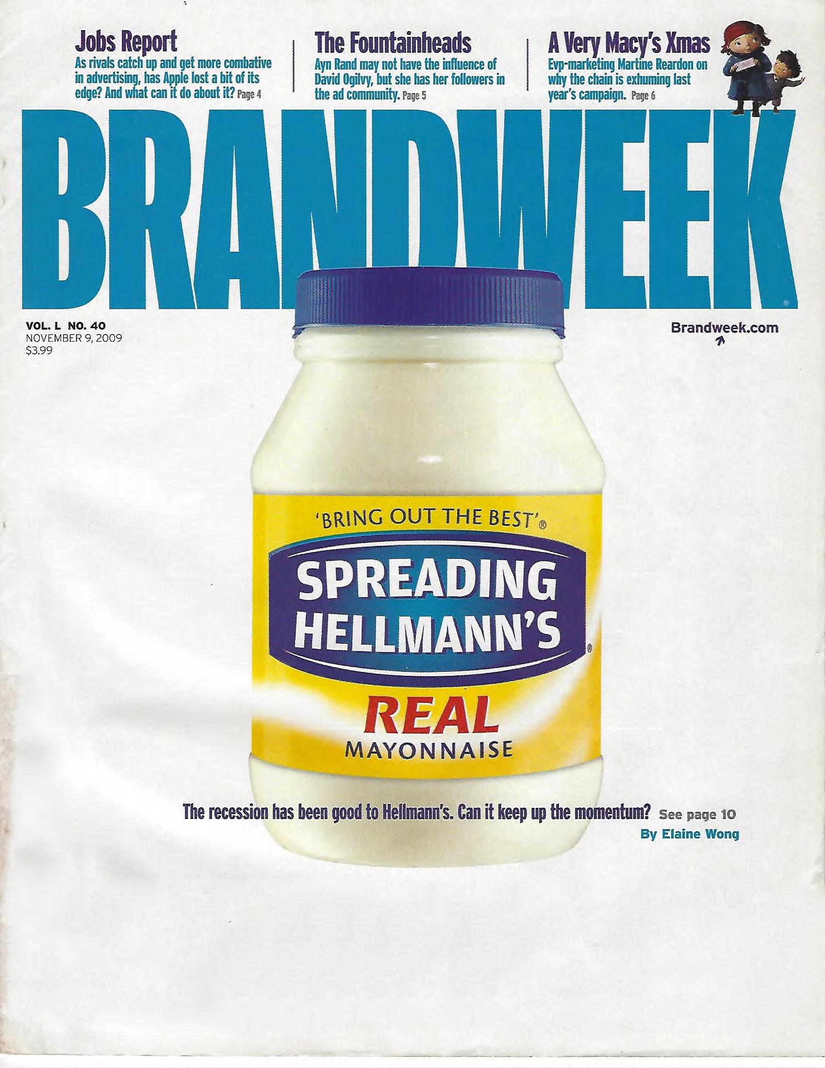 Jamey Fish cover story Brandweek Magazine