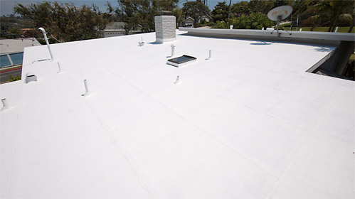 America's Best Roofing Co Torch Down with coating