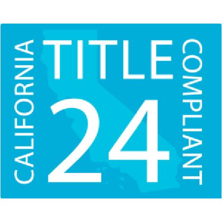 Title 24 Compliant Blue Logo