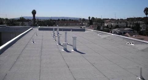 Capsheet roofing