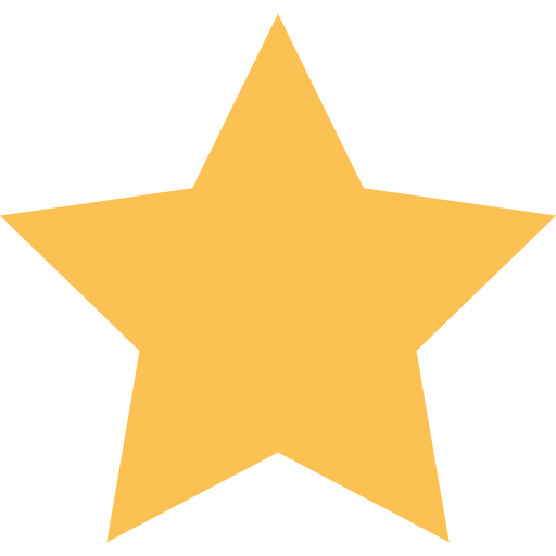yellow rating star