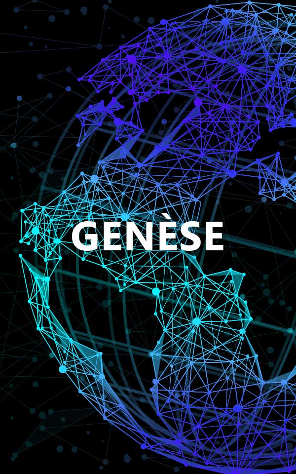 earth design with genèse as a title