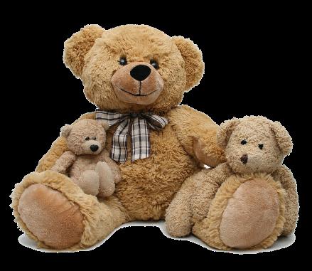 A stuffed teddy bear